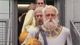 Monty Pythons Fussballspiel der Philosophen zwischen Deutschland und Griechenland