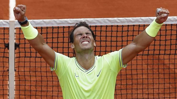 Rafael Nadal bleibt der Pariser Sandkönig.