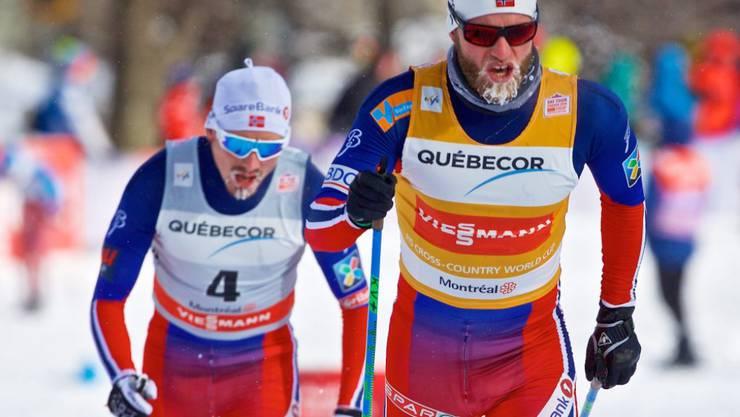 Martin Johnsrud Sundby gewann zum dritten Mal in Folge den Gesamtweltcup