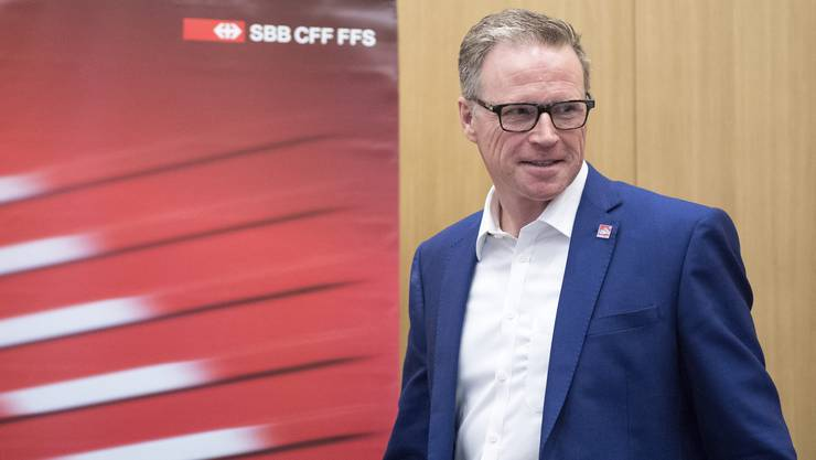 Steht in der Kritik: CEO der SBB, Andreas Meyer.