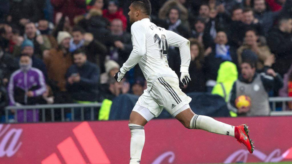 Casemiro ebnete Real Madrid dank einem herrlichen Weitschuss zum 1:0 den Sieg gegen den FC Sevilla