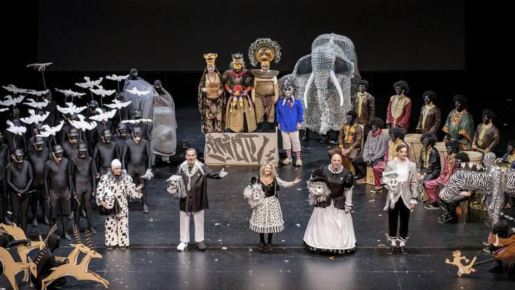 In den letzten Jahren spielte das Ensemble und die Fasnachtsformationen im Musical Theater.