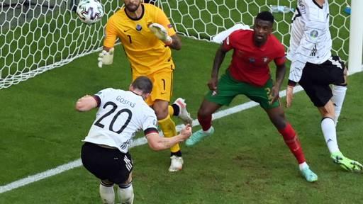 Deutschland schlägt Portugal nach Rückstand 4:2