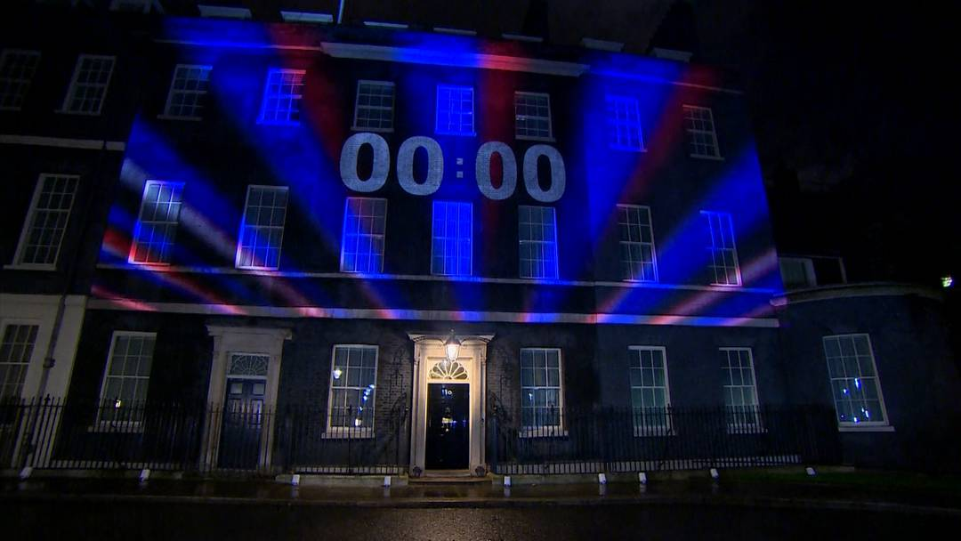"""""""We're Out!"""" - Die Briten sind um Mitternacht aus der EU ausgetreten"""