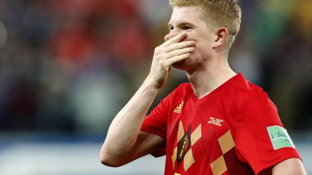 Kevin de Bruyne fehlt Belgien im ersten EM-Spiel (Archivbild)