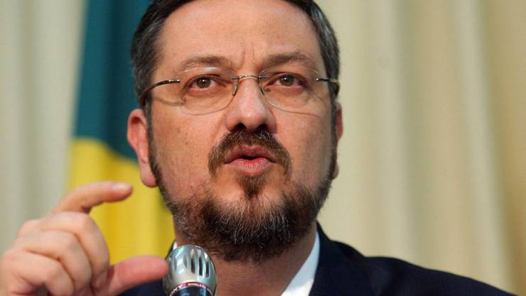 Der ehemalige Finanzminister Antonio Palocci ist im Zuge der Korruptionsermittlungen um den Erdölkonzern Petrobras verhaftet worden. (Archivbild)