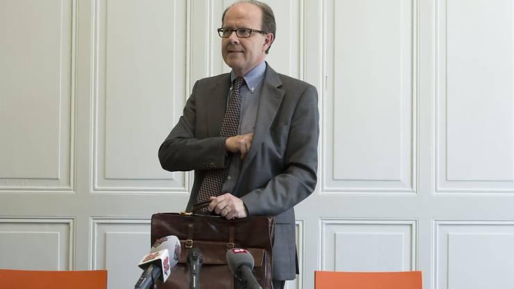 Jean-Luc Vez, der frühere Chef des Bundesamtes für Polizei (fedpol), ist im Alter von 60 Jahren verstorben. (Archivbild)