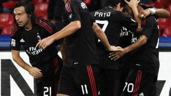 Zlatan Ibrahimovic und Kollegen