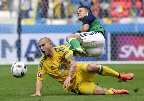 Viel Ballbesitz, aber trotzdem kein Erfolg: die Ukraine.