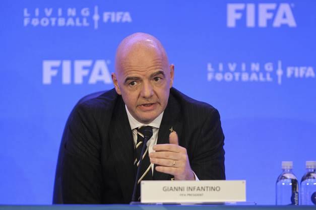 Gianni Infantino will künftig härter durchgreifen.