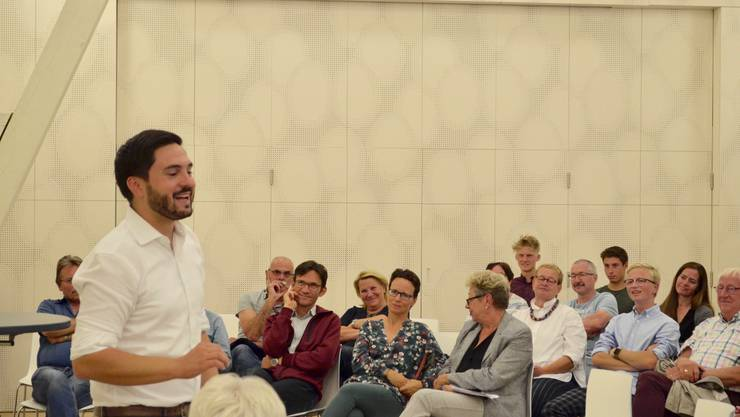 Cédric Wermuth im Gespräch