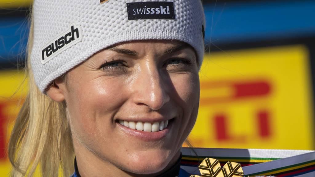 Lara Gut-Behrami hat den WM-Titel im Sack und Olympia-Gold im Kopf