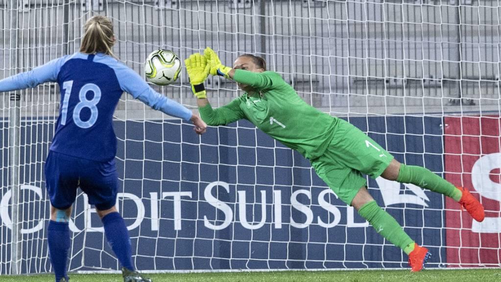 Wird dem Schweizer Nationalteam im entscheidenden EM-Qualifikationsspiel in Belgien fehlen: Goalie Gaëlle Thalmann.