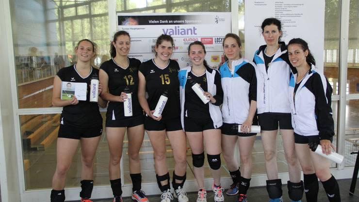 Damen 1 des SV Lägern Wettingen Volleyball