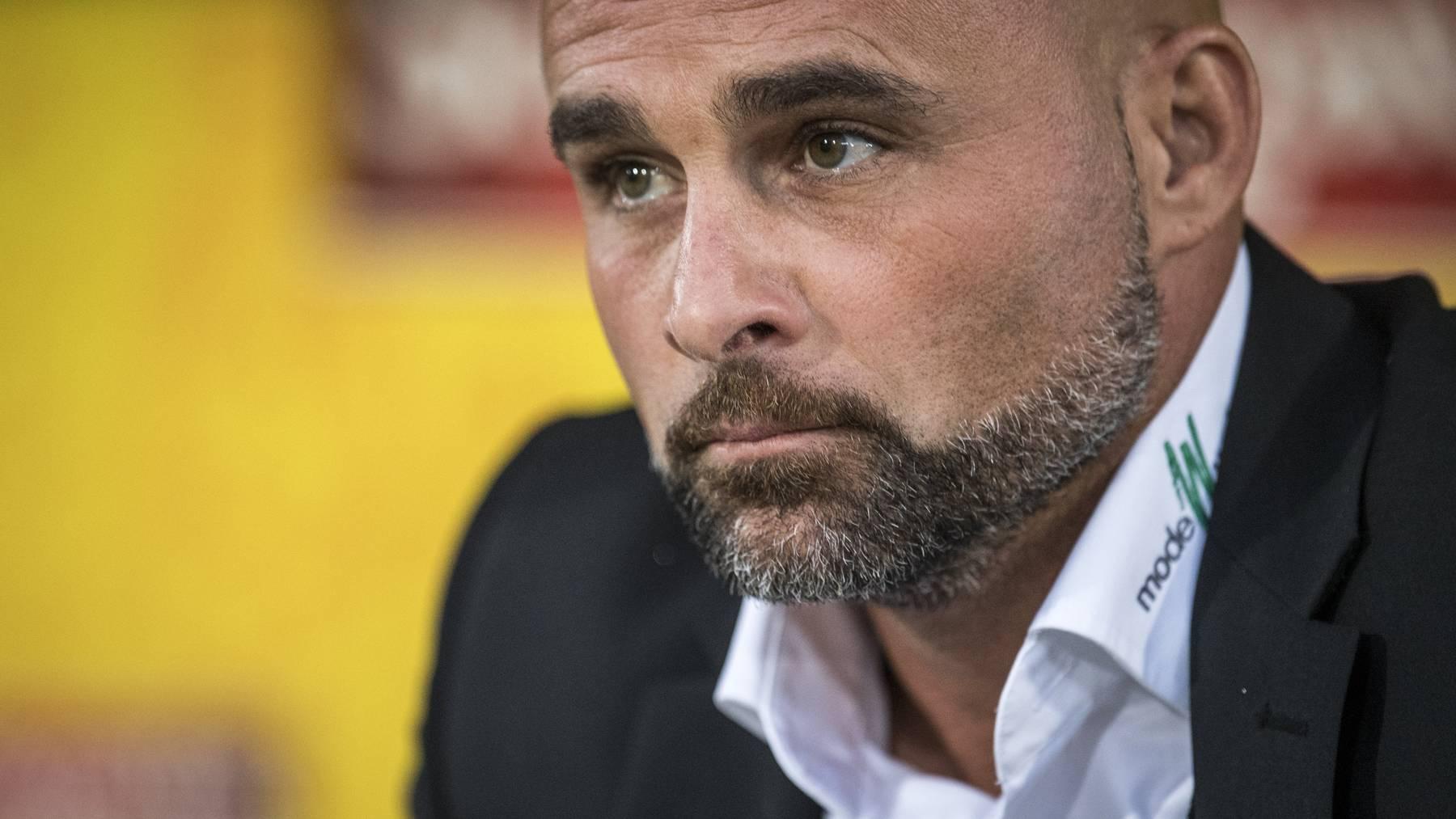 Giorgio Contini reist mit dem FC St.Gallen zum FC Linth.