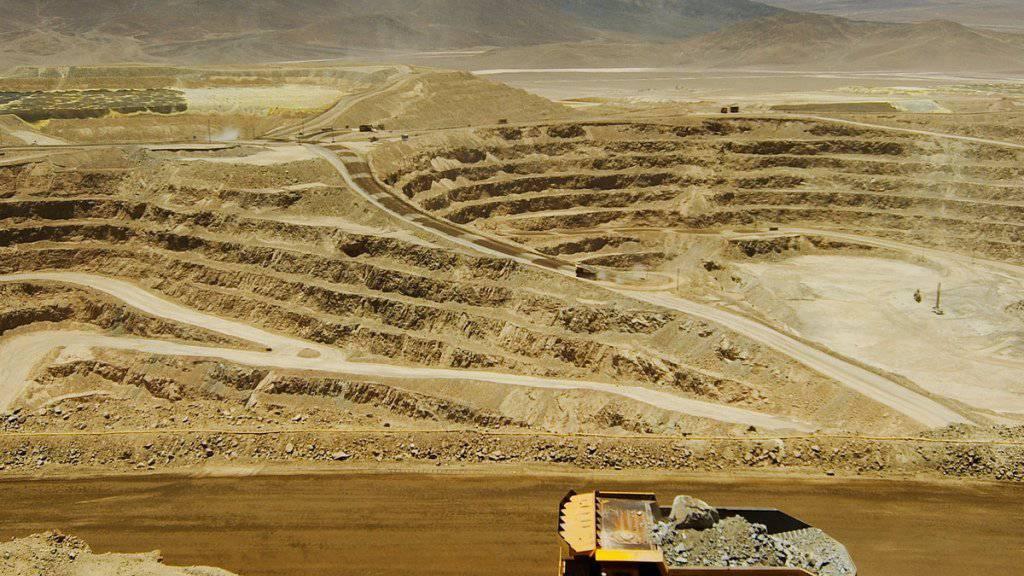 Für die Lomas-Bayas-Mine von Glencore in Chile haben andere Akteure ein Kaufinteresse angemeldet.