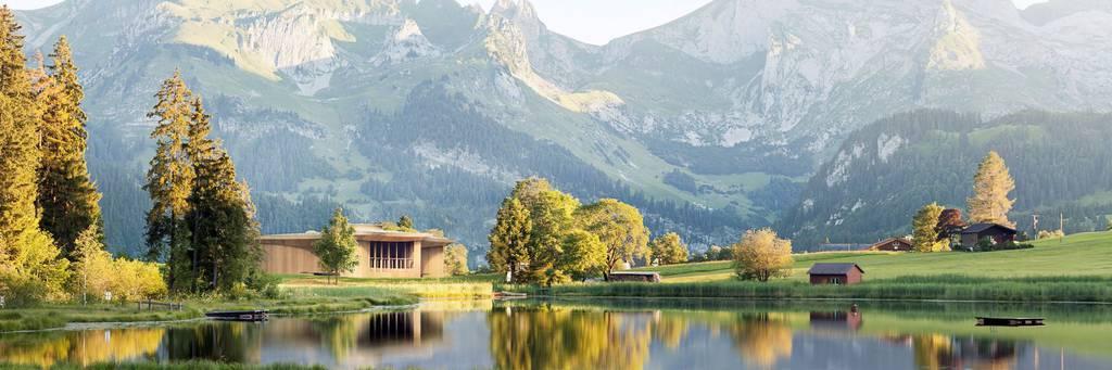 Das Klanghaus soll direkt am Schwendisee entstehen. (Bild: pd)