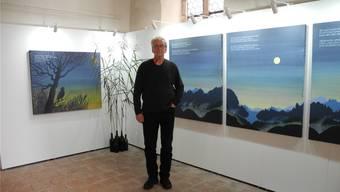 Unter dem Titel «aus dem richtigen Leben» stellt Viktor Hottinger seine Bilder aus.