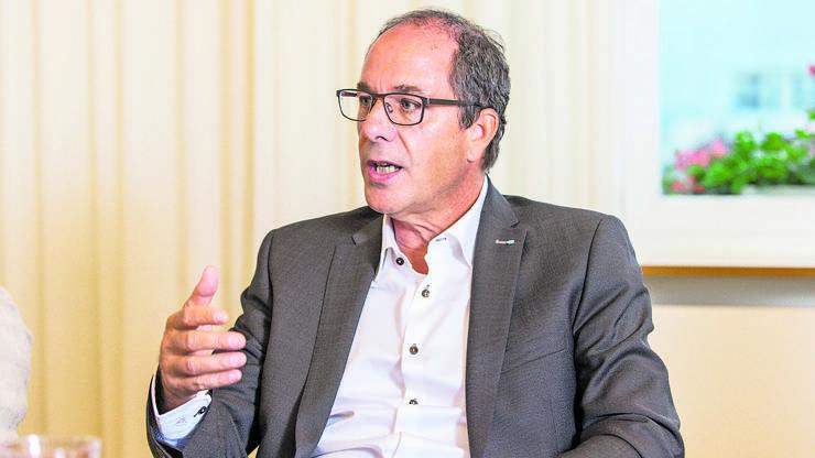 War gezwungen, einen neuen Partner zu suchen: KSB-CEO Adrian Schmitter.