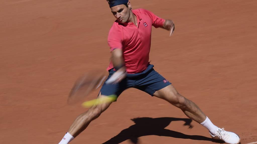 Roger Federer auf überzeugende Art eine Runde weiter