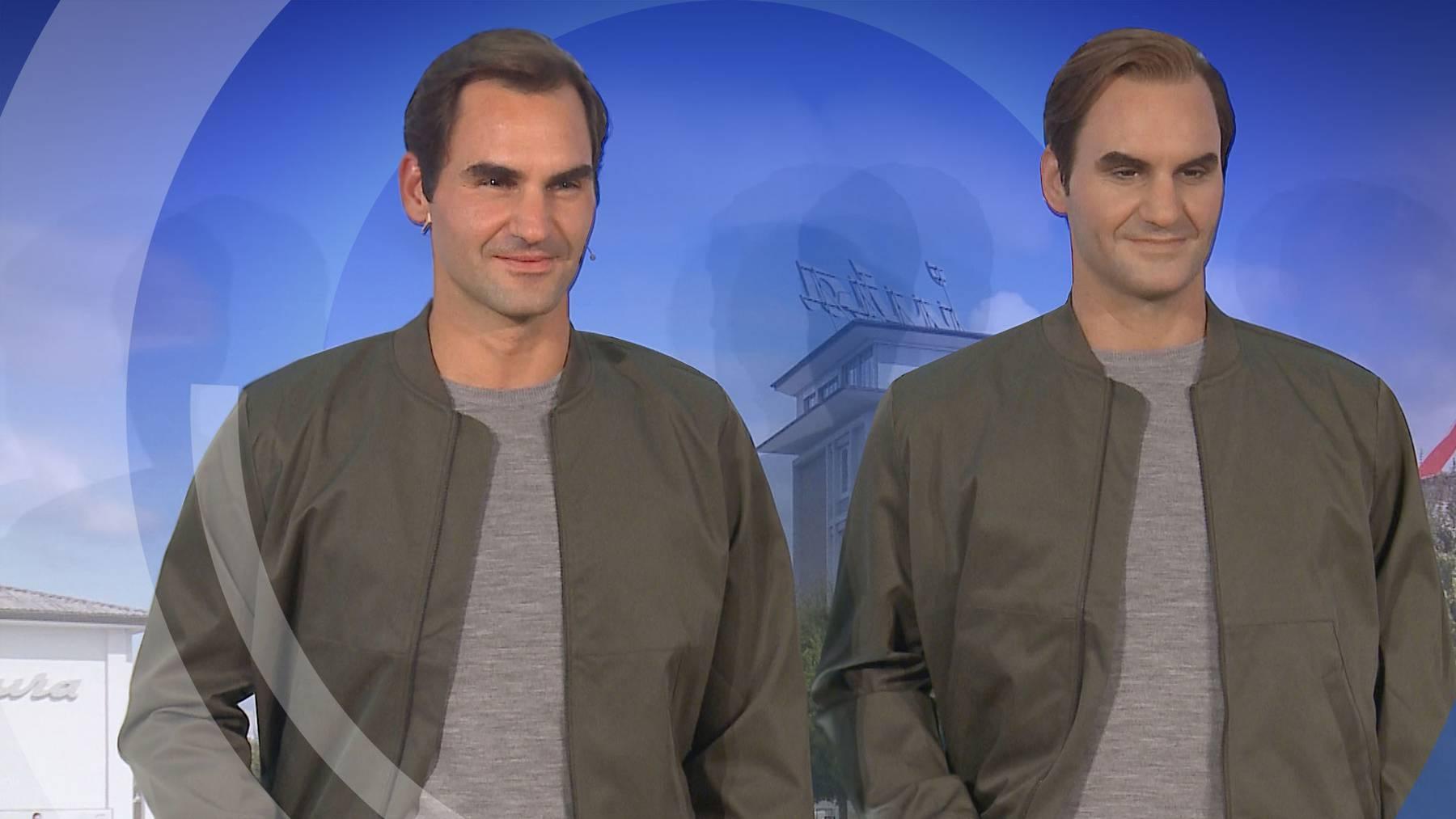 Roger Federer Wachsfigur