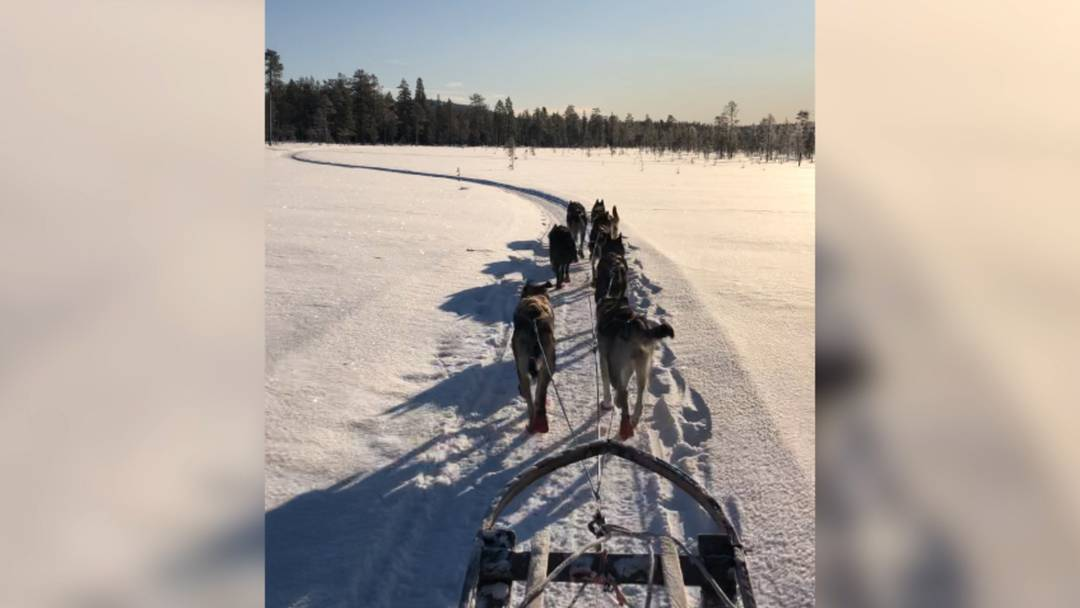 Schnee, Sonnenschein und schier unendliche Weiten: So erlebt Nadine Steiner Schweden