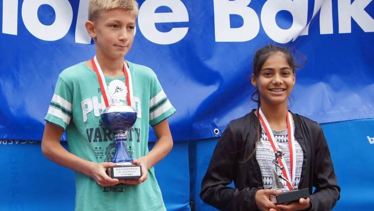 Sandrin Manikavasagar und Silas Schmidlin siegten in den Superfinals.