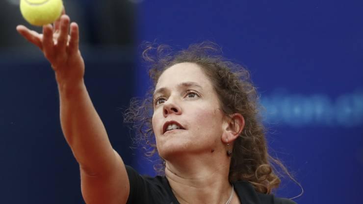 Patty Schnyder steht als einzige Schweizerin in Gstaad in der 2. Runde