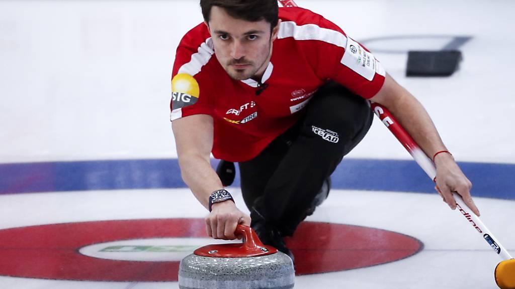 Niederlage und Sieg der Schweizer Curler