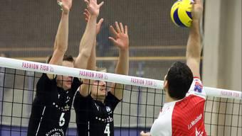 Tempi passati: TV Schönenwerd (links) heisst neu Schönenwerd Volley.