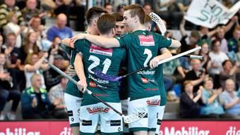 Wiler-Ersigen gewinnt gegen Köniz und führt in der Halbfinal-Serie mit 1:0.