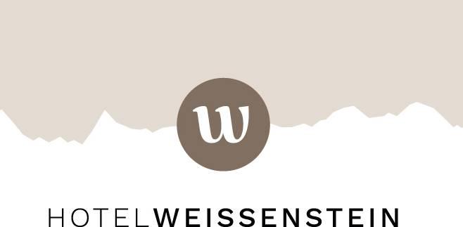 Das Logo wird vom Weissenstein-Ausblick auf die Alpenkette geprägt.
