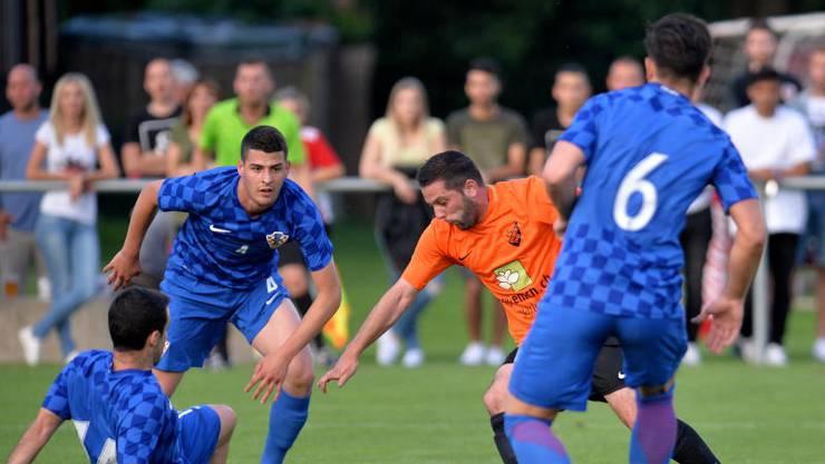 Die Spieler von HNK Croatia steigen nach einer Saison wieder ab.
