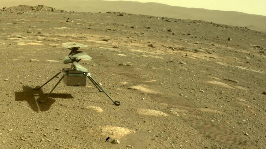 Flug von Mars-Hubschrauber gescheitert – neuer Versuch am Freitag