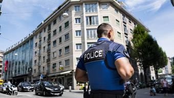 Kampf gegen Drogenhandel in Lausanne: Die Polizei hat seit Mitte Juni ihre Präsenz an ausgewählten Standorten stark erhöht. (Archiv)