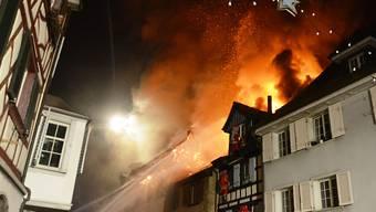 Beim Grossbrand in Steckborn TG vom 21. Dezember 2015 wurden sechs Häuser ein Raub der Flammen. Es entstand Sachschaden von zwölf Millionen Franken.
