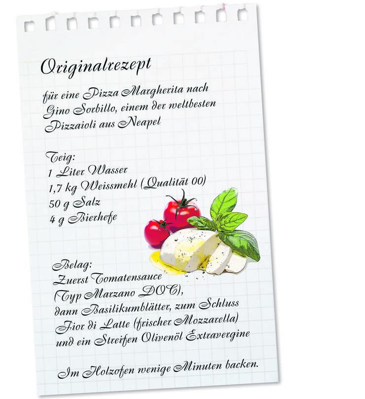 Pizza Margherita zum selber machen.