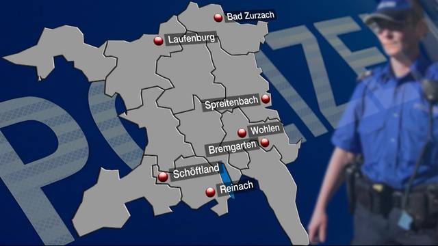 Aargauer Kantonspolizei schliesst 4 weitere Standorte