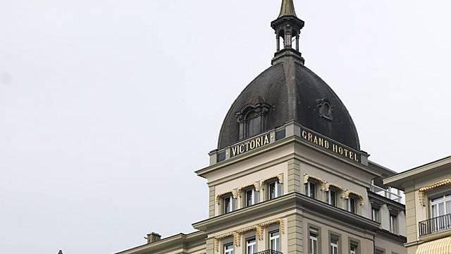 Türmchen des Hotel Victoria Jungfrau in Interlaken