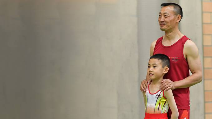 Der siebenjährige Sohn Janis von Donghua Li ist an Krebs gestorben. (Bild vom Mai 2019)