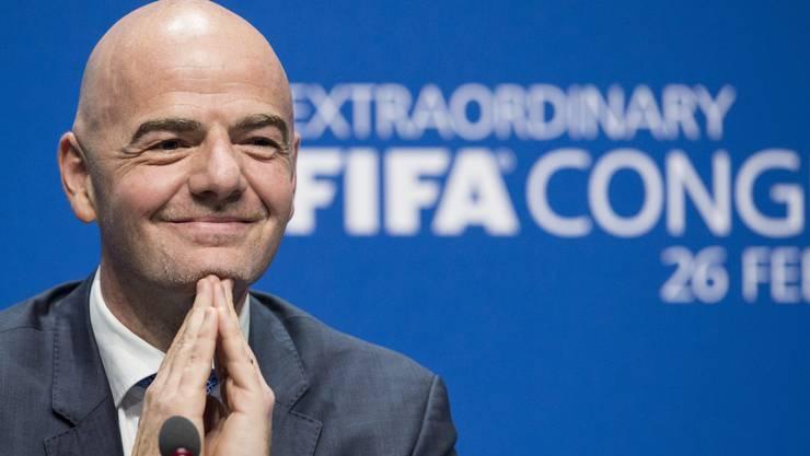 Die Erwartungen sind hoch an den neuen Fifa-Chef Gianni Infantino.