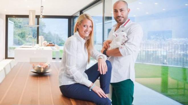 Unternehmerehepaar Christa Rigozzi und Giovanni Marchese. Foto: Thomas Buchwalder
