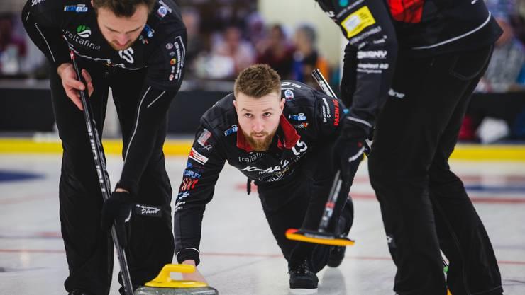 Curling: Schweizer Meisterschaften 2020; Team Bern Zähringer; Skip Yannick Schwaller