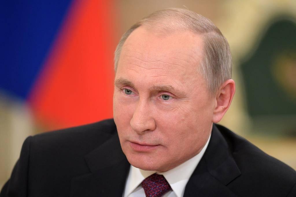 Platz 1: Wladimir Putin, Präsident Russlands (© Alexei Druzhinin Sputnik, Kremlin Pool Photo via AP)