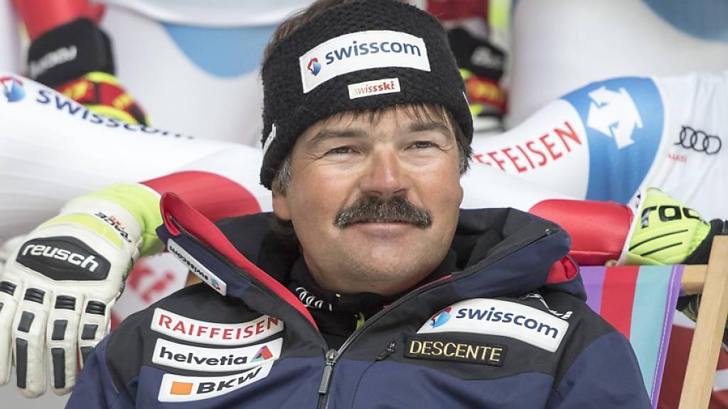 Cheftrainer Thomas Stauffer führte das Schweizer Männer-Team von der Nummer 6 zur Nummer 1
