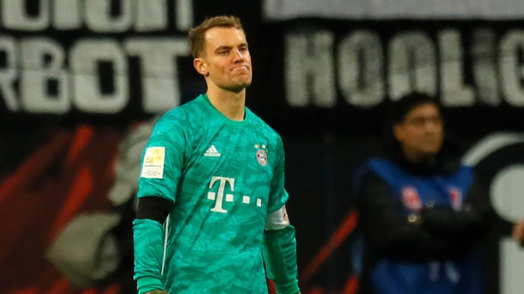 Bayern München geht in Frankfurt unter