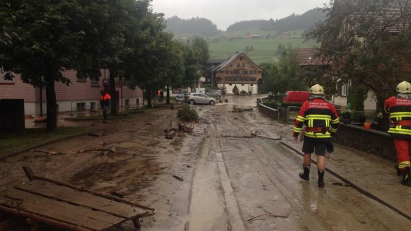 Hochwasser Zentralschweiz: Prognose schwierig