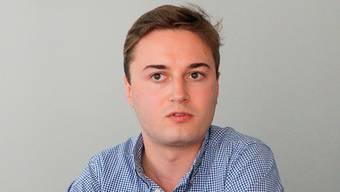 Julian Eicke ist Mitglied der Jungfreisinnigen und schliesst Ende Jahr sein Studium ab.