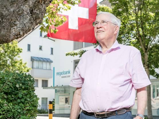 SVP-Doyen Christoph Blocher in Männedorf: «Aber an der Unabhängigkeit, am Selbstbestimmungsrecht, an der direkten Demokratie und am Föderalismus gibt es nichts zu rütteln.»