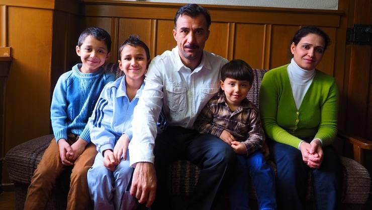 «Die Asylsuchenden haben sich gut integriert»: In Mettauertal leben seit einem Jahr zwei syrische Familien. Archiv/twe